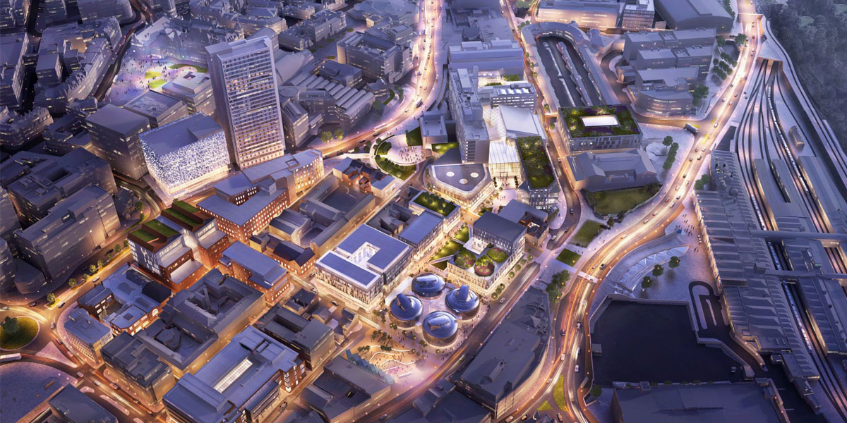 Sheffield Hallam reveals city centre campus plan  supporting image