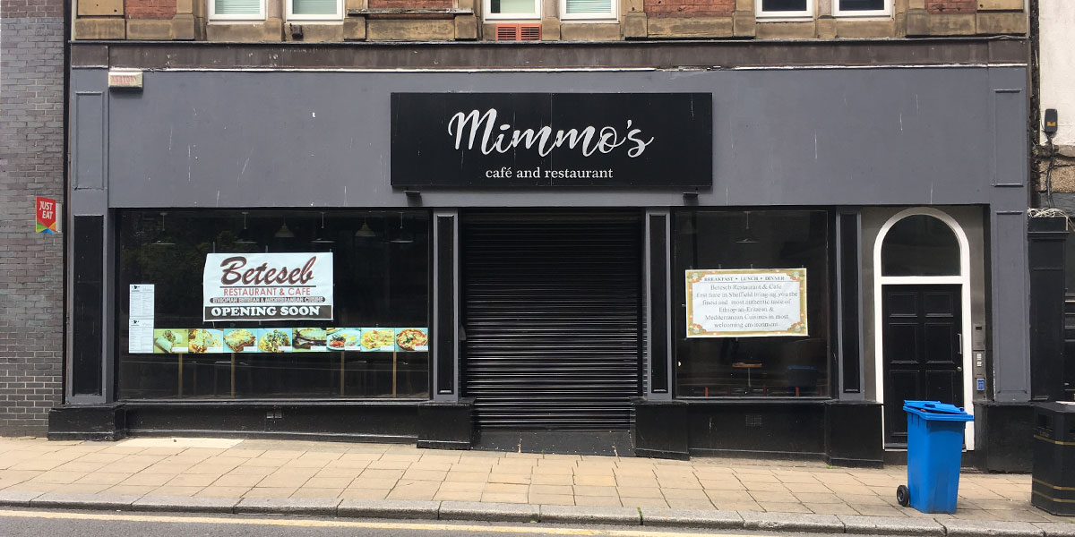 Ethiopian restaurant 'coming soon' to city-centre Thumbnail