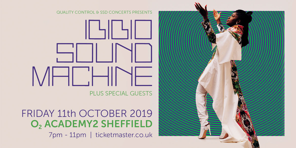 Ibibio Sound Machine heading to Sheffield Thumbnail