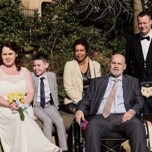 Hospice helps wedding dream come true thumbnail