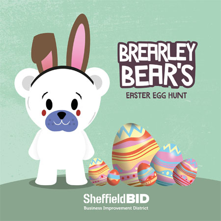 An interactive Easter egg hunt is heading to Sheffield city centre supporting image