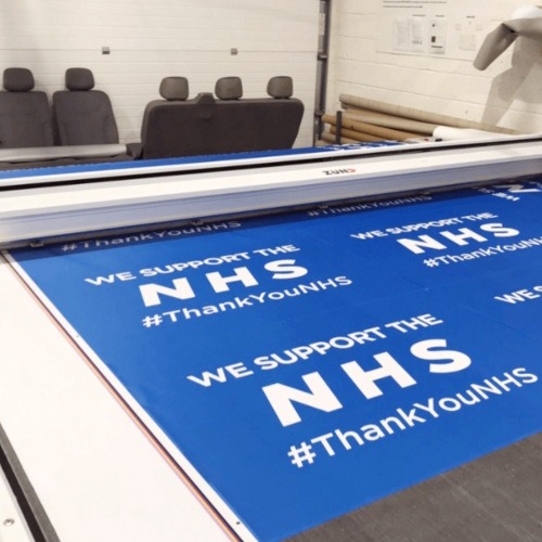 Yorkshire Flag Manufacturer Raises Money For The NHS thumbnail
