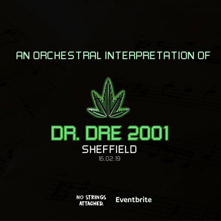 Orchestral version of Dre's 2001 album heading to Sheffield supporting image