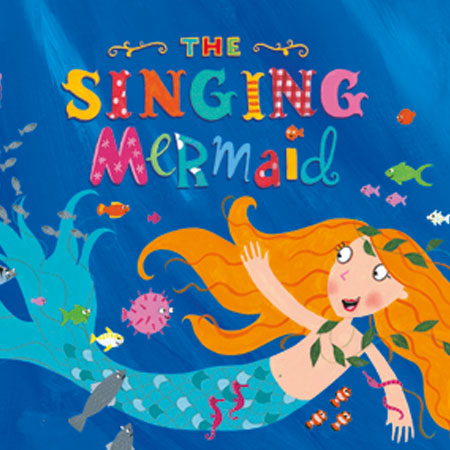 Singing Mermaid spends Christmas in the studio Thumbnail