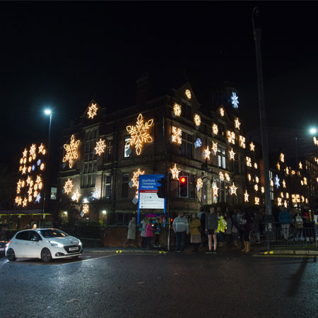 Snowflakes raise record-breaking total for Sheffield Children's Thumbnail