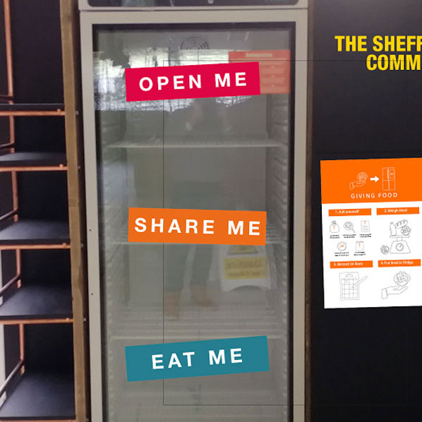Community fridge launched in Sheffield Thumbnail