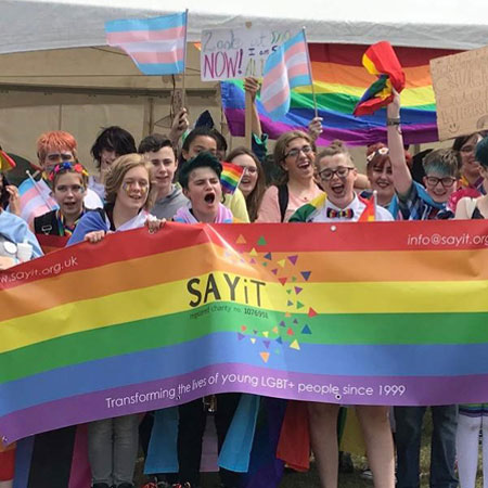 Sheffield awarded gold for LGBT+ services  supporting image