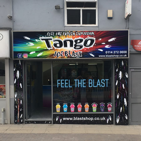 First Tango Ice Blast shop opens in Sheffield Thumbnail