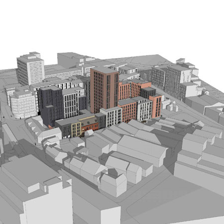 A huge new city-centre development is in the works supporting image