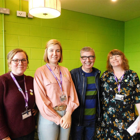 Sheffield Theatres' team hold charity bake off in support of Alzheimer's Society's supporting image