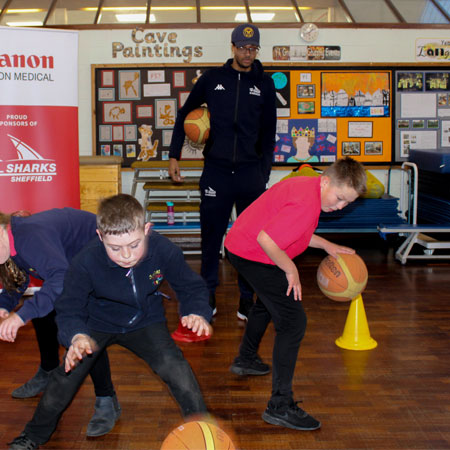 Sheffield Sharks RESPECT community outreach programme celebrates 10 years Thumbnail