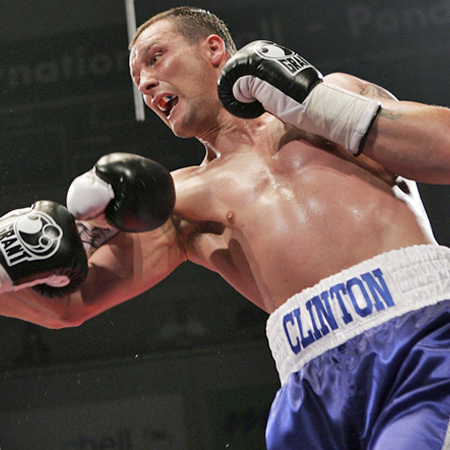 Vibe caught up with champion boxer Clinton Woods after the release of his new book  thumbnail