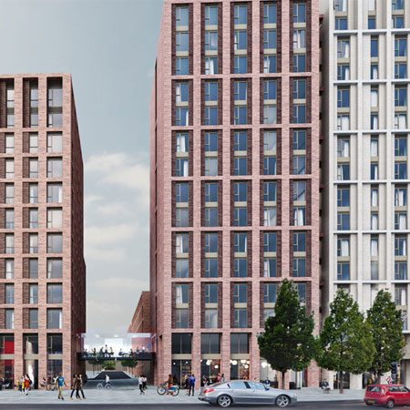 Plans submitted for huge student development in city centre thumbnail
