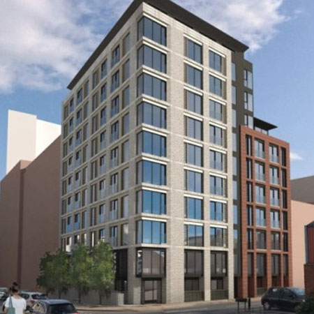 Plans lodged for new city-centre apartment scheme Thumbnail
