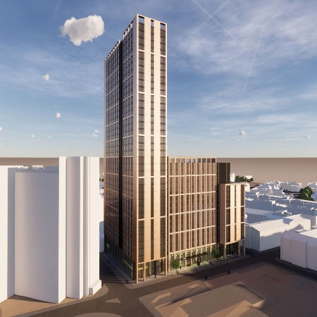 Yorkshire's tallest building looks set for green light in Sheffield Thumbnail