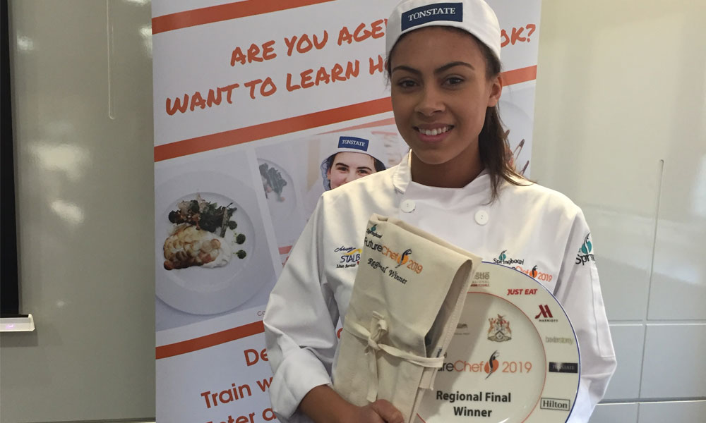 Sheffield teen hoping to cook up awards storm supporting image