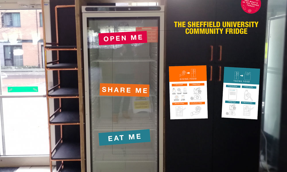 Community fridge launched in Sheffield supporting image
