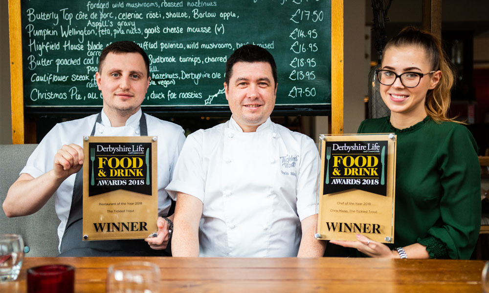 Double awards joy for Tickled Trout  supporting image