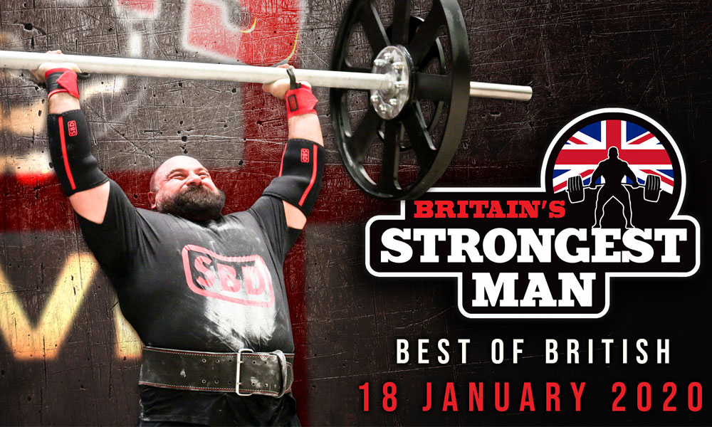 Britain's Strongest Men are coming to Sheffield supporting image