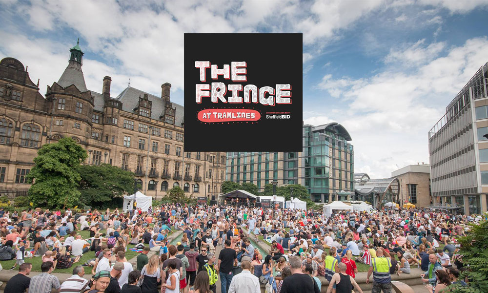 Cinema and arts take over city-centre for The Fringe at Tramlines supporting image