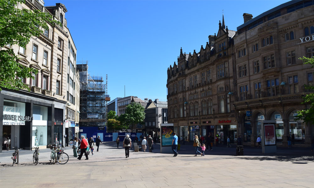 Sheffield city-centre shortlisted for £675m fund supporting image