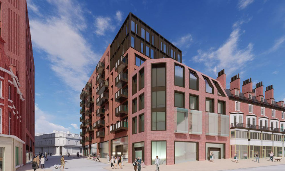 New plans submitted for Heart of the City II supporting image
